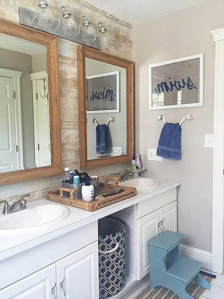 25 stunning coastal nautical bathroom remodel ideas
