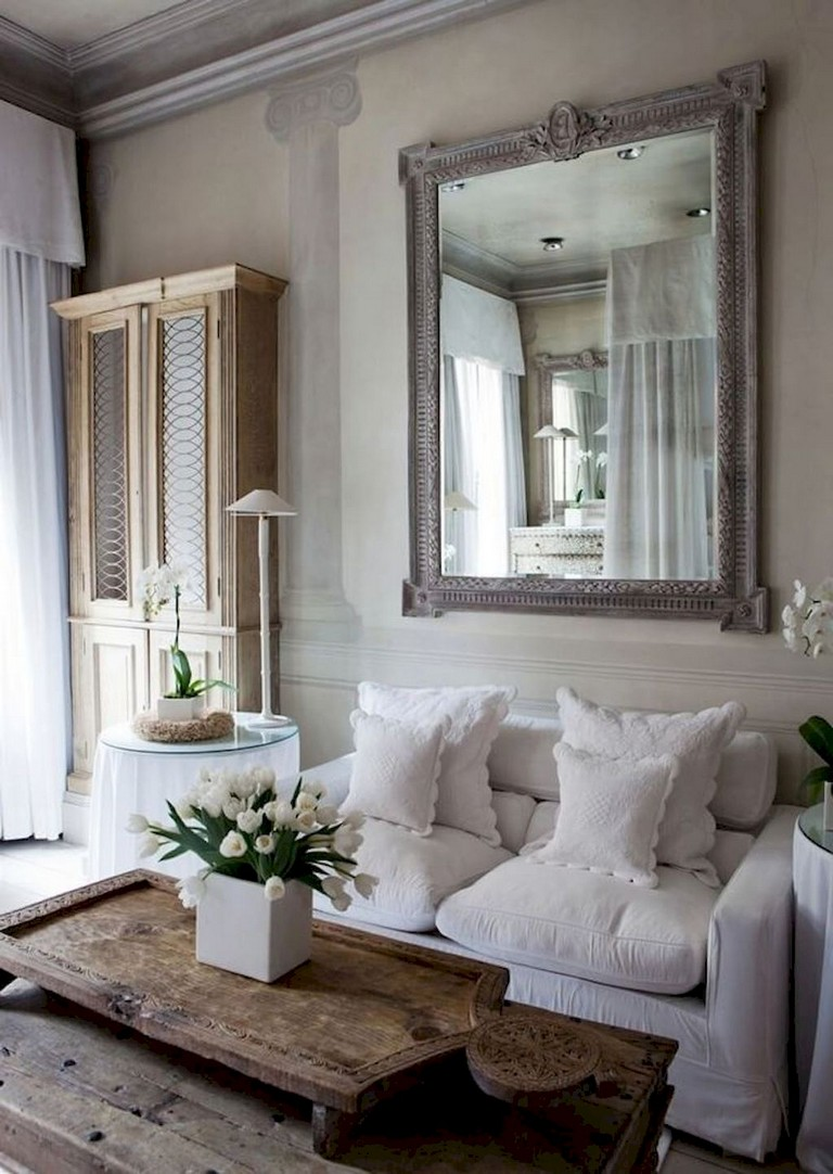 38+ Stunning Vintage French Country Living Room Ideas