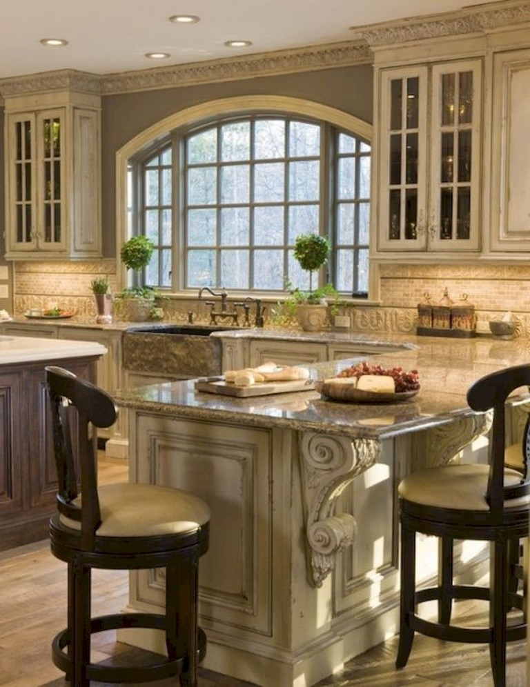Admirable 58 Beautiful French Country Style Kitchen Decor Ideas Download Free Architecture Designs Scobabritishbridgeorg