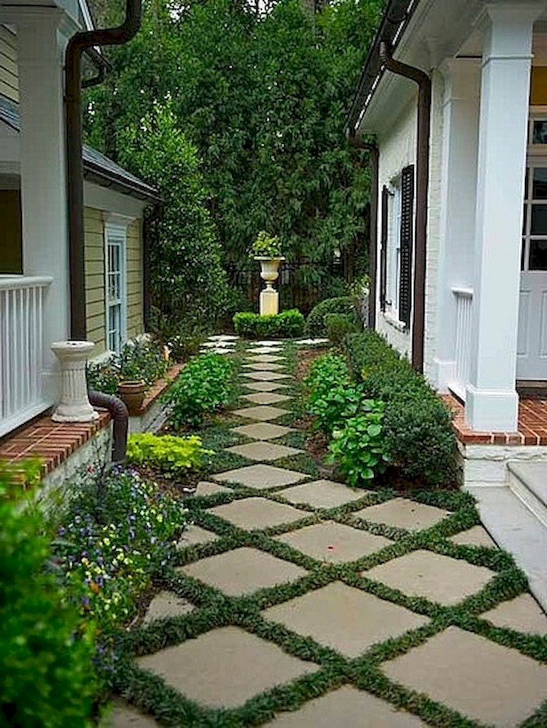 60+ Beautiful Backyard Garden Path & Walkway Ideas On A ... on Stunning Backyards  id=69314