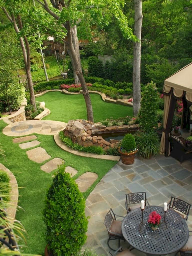 60+ Beautiful Backyard Garden Path & Walkway Ideas On A ... on Patio And Path Ideas id=96634