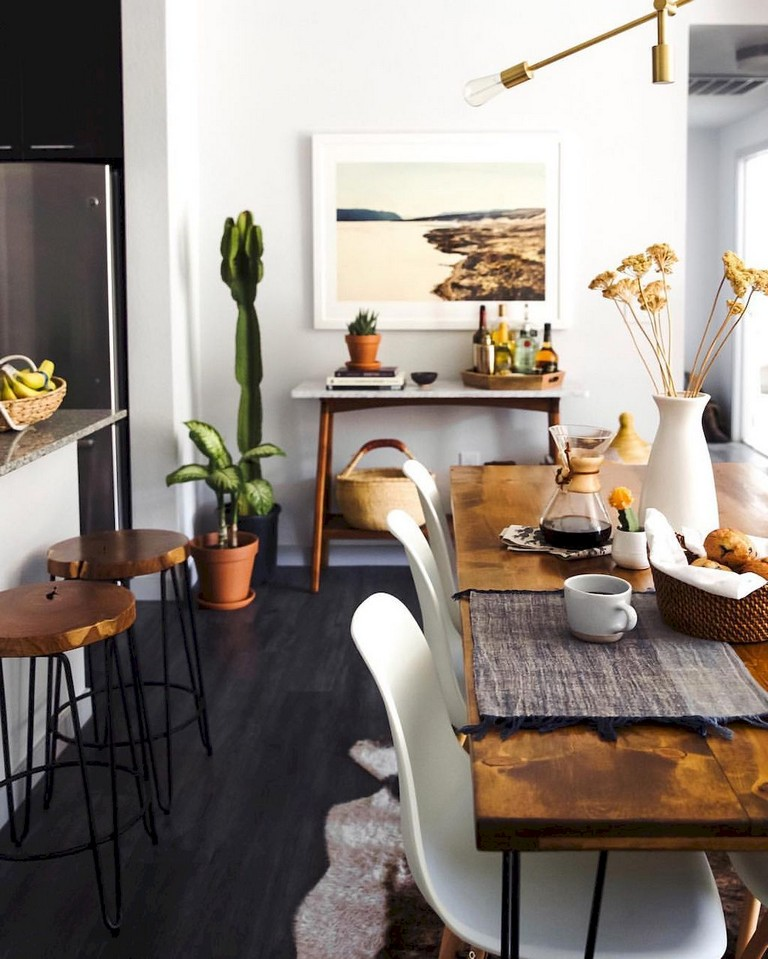 125 inspiring small clean first apartment dining room