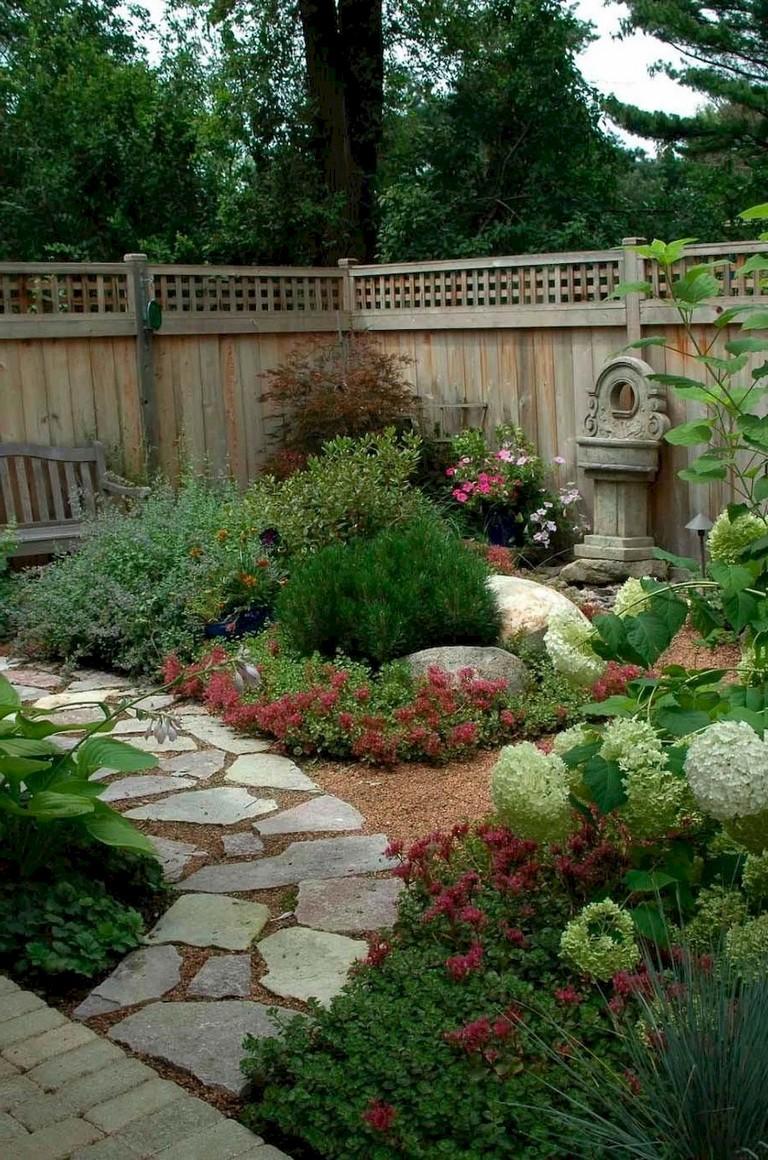 63+ Beautiful Front Yard Rock Garden Landscaping Ideas ...