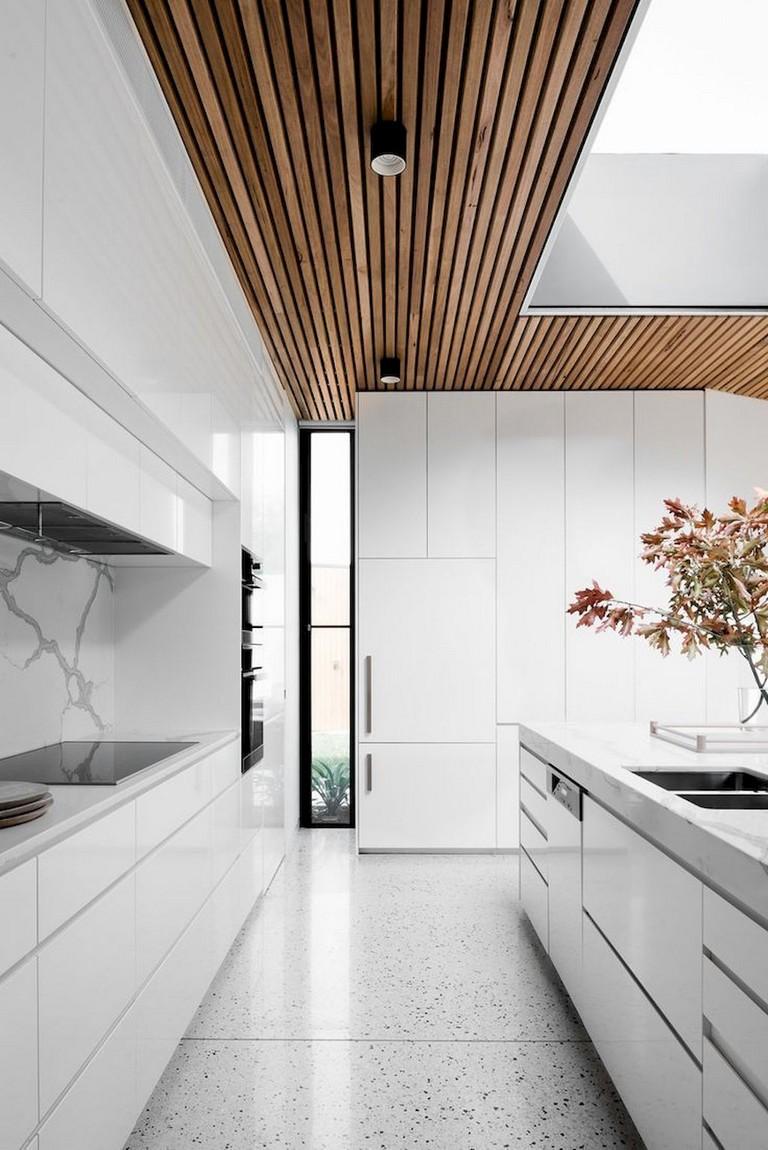 67 Stunning Black White Wood Kitchen Decor Ideas