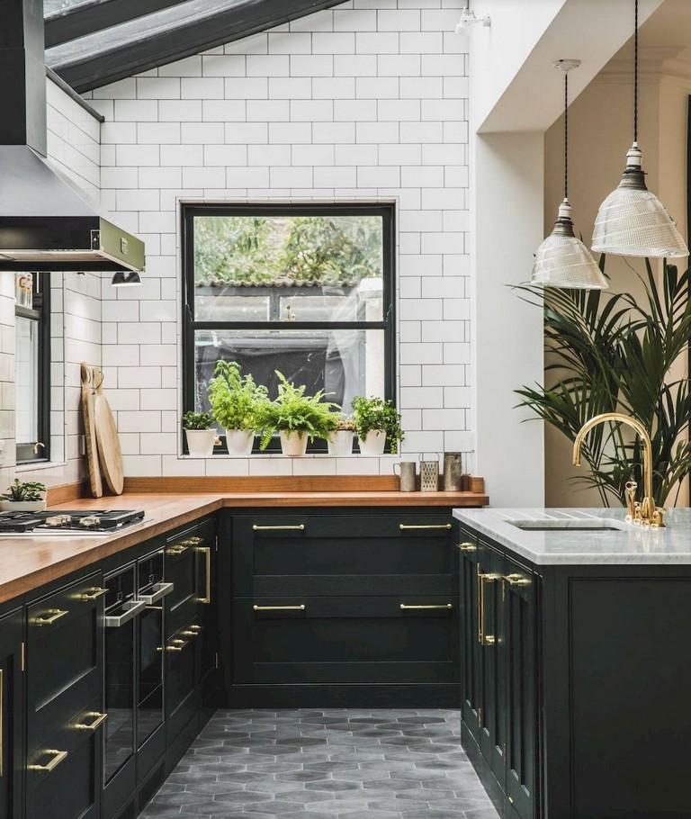 67 Stunning Black White Wood Kitchen Decor Ideas Page 69 Of