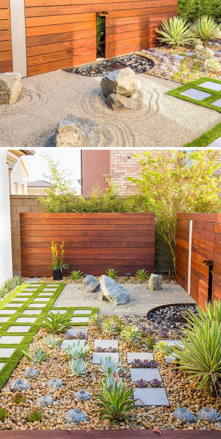 70 Best Front Yard And Backyard Landscaping Ideas: 68+ Marvelous Rock Garden Ideas Backyard Front Yard