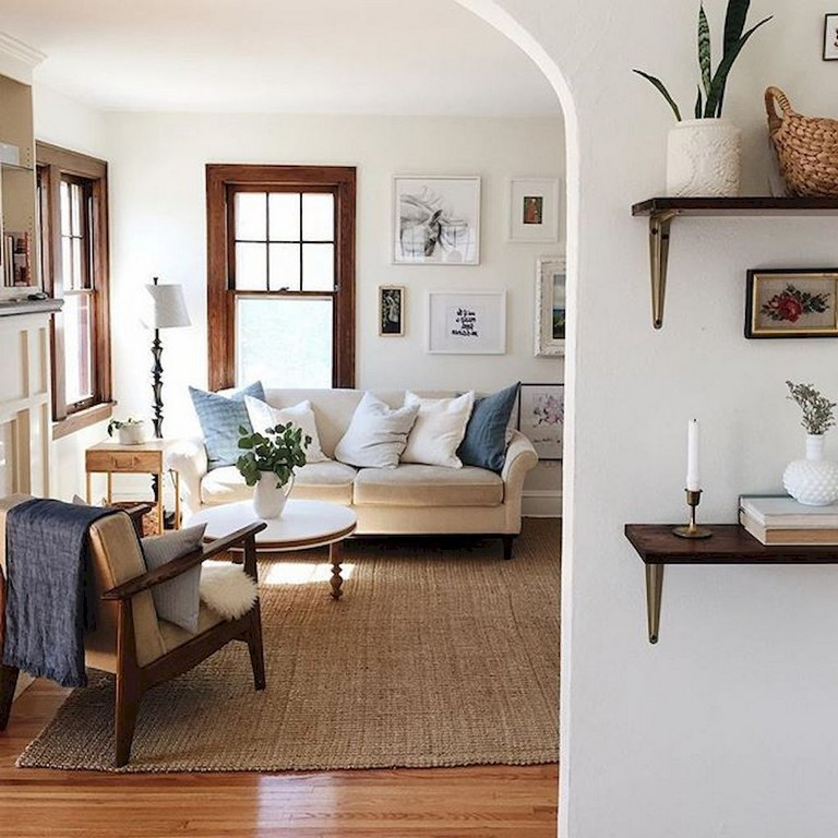 74 Lovely French Country Living Room Decor Ideas