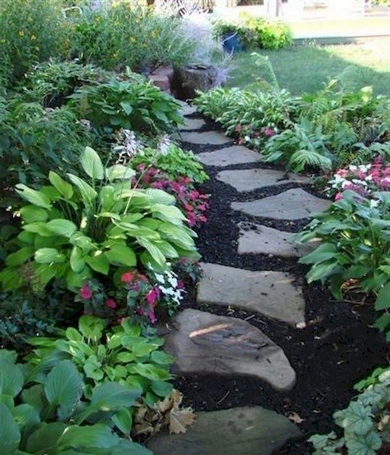 Lovely Front Yard Pathway Landscaping Ideas