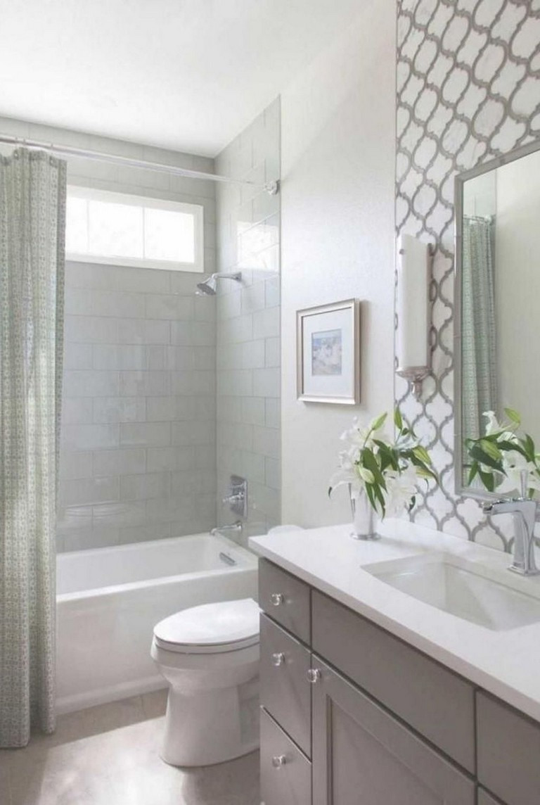 80+ Luxury Small Bathroom Decorating Ideas - Page 40 of 82