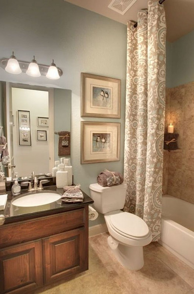 80+ Luxury Small Bathroom Decorating Ideas - Page 49 of 82