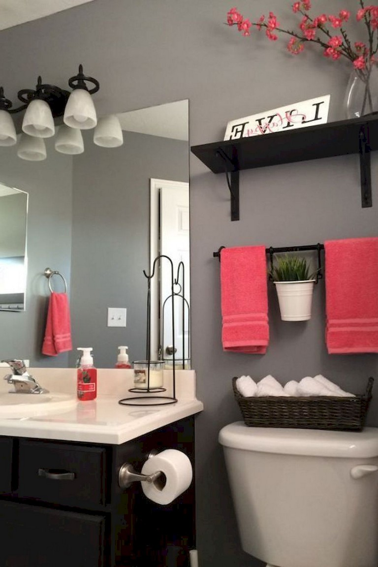 80 Luxury Small Bathroom Decorating Ideas