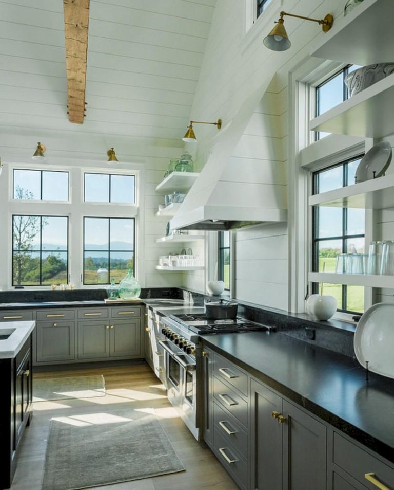 37+ Cool Grey White Kitchens Design Ideas