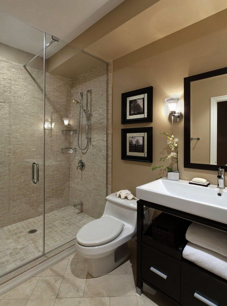37+ Stunning Remodeling Small Bathroom Ideas - Page 16 of 39