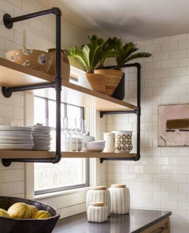 43 Extremely Creative Small Kitchen Design Ideas: 43+ Smart Rustic Farmhouse Kitchen Cabinets Remodel Ideas