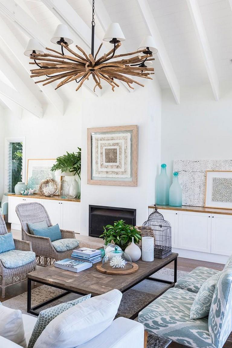 Coastal Living Room Design Ideas: 45+ BEAUTIFUL RUSTIC COASTAL LIVING ROOM DESIGN IDEAS